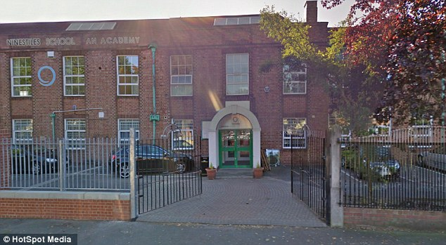 Muslim pupils at Ninestiles School in Birmingham unwittingly ate the bacon after picking up baguettes labelled as halal chicken and sweetcorn