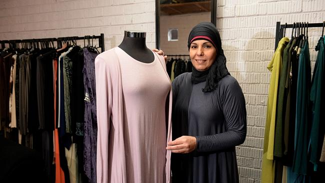 "Recently, Kattan started her own label Dima G for the fashionista or, more appropriately, ""hijabista""."