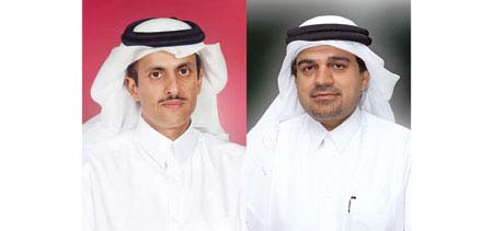 Dr Sheikh Khaled bin Thani Al Thani & Abdulbasit A Al Shaibei | Photo: The Peninsula