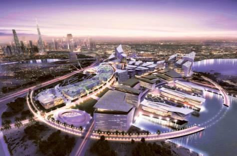 Artistic impression of Dubai Design District. Image Credit: Courtesy: The Government of Dubai Media Office