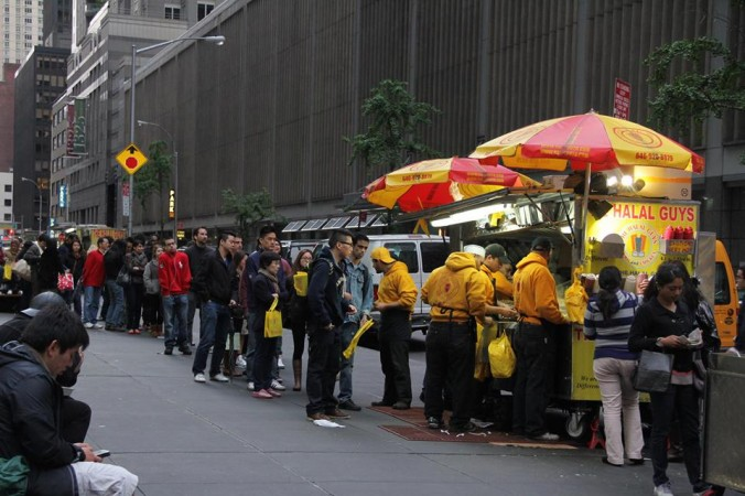 The Halal Guys, a popular food cart on 53rd St. and Sixth Ave. They are opening their first restaurant in the East Village. (The Halal Guys/Facebook)