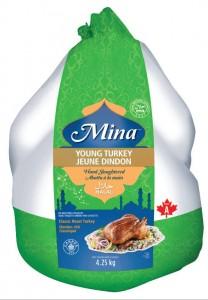 mina halal turkey
