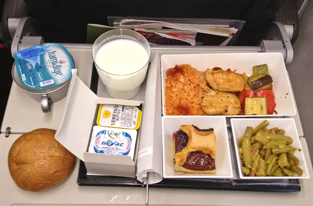 Malaysian Airlines halal menu for Japan