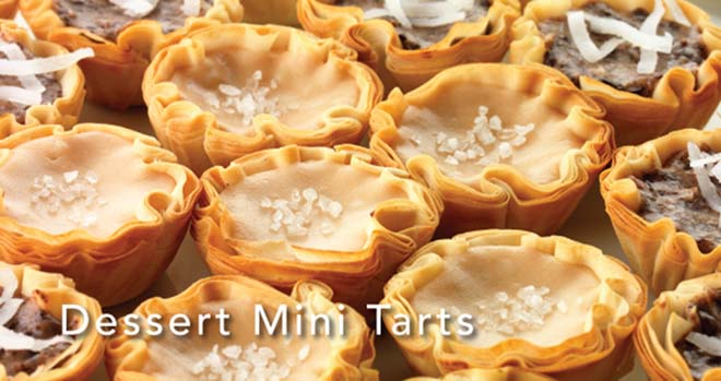 Saffron Road's Dessert Mini Tarts