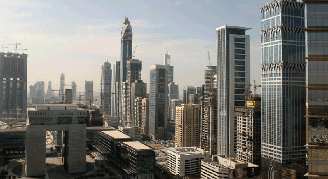 The Dubai International Financial Centre-DIFC