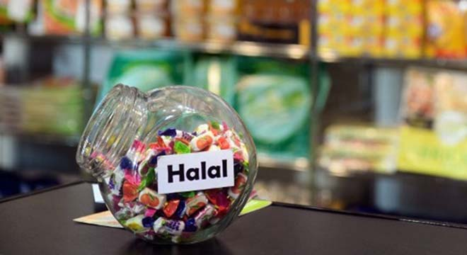 Which flavour do you fancy? Halal candies are displayed in an Expo of major supermarket chain brands in Paris. The fair presents food made and sold under the names of major supermarket outlets, such as Casino, Carrefour, Cora e.t.c. AFP Photo / Martin Bureau