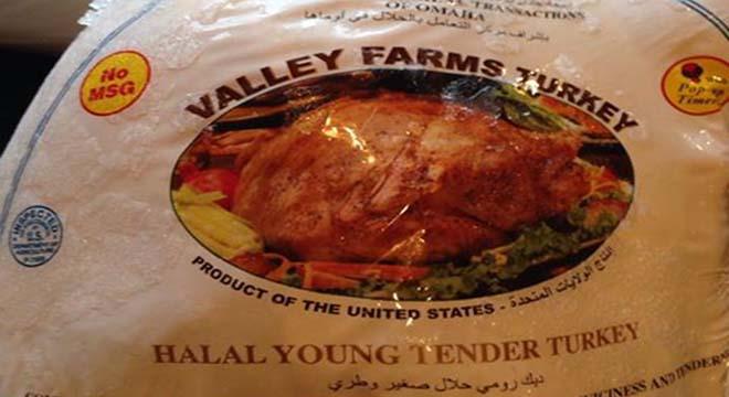 USA: Halal Turkeys for Thanksgiving