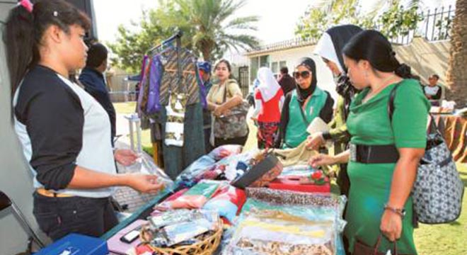 Consulate General of the Republic of Indonesia in Dubai, Organize Indonesian bazaar and free medical test event for the Indonesian community in Dubai and Northern Emirates. On the occasion of the 10th Anniversary of the establishment of the Consulate General of the Republic of Indonesia in Dubai. Image Credit: Javed Nawab/Gulf News