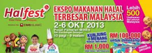 Malaysia: Halal products fair to build support for SMEs in 2014