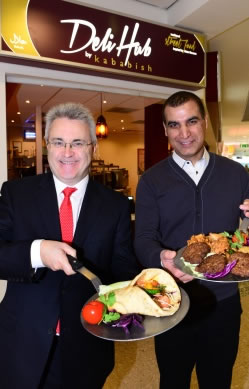 UK: Birmingham Airport opens Asian street food concept Deli Hub