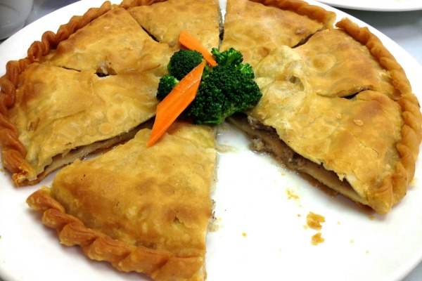 Meat pie at Silk Road