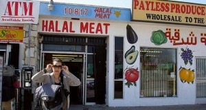 Halal meat that might not actually be halal. (Omar Barcena)