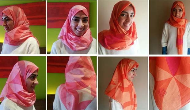 Japan: Kyoto Style Hijabs as souvenirs for Muslim visitors