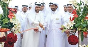 Dr Khalid bin Ibrahim al-Sulaiti opening the festival. (Image: Najeer Feroke)
