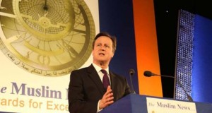 David Cameron at the event